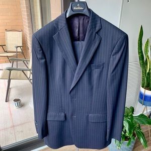 Brooks Brother's Navy Pinstripe Suit